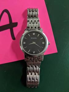 Bulova 96p148 Ladie's Dress Watch