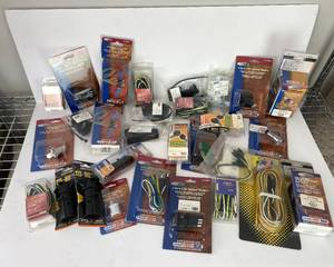 Bulk Lot of Trailer Wiring Accessories - 60 pieces