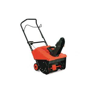 YARDMAX 18 in. Single-Stage Gas Snow Blower in good conditions