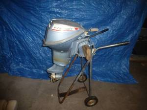 Evinrude 9.5 Hp Outboard Motor