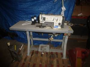Singer Commercial Double Needle Sewing Machine