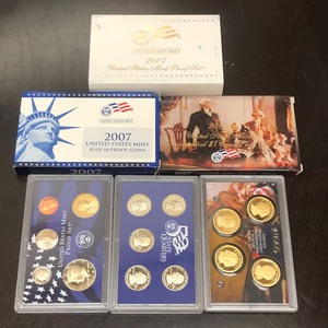 2007 U.S. Mint Proof Set: Ten Of Fo...
