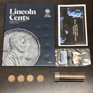 Lot Of: (1) Partial Lincoln Memoria...