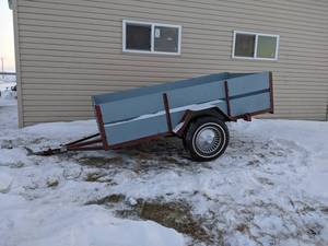 Homemade 8' Single Axle Trailer