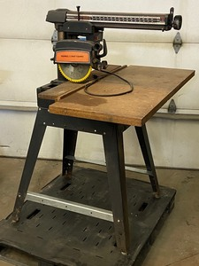 "Craftsman 10"" Radial Arm Saw With S..."