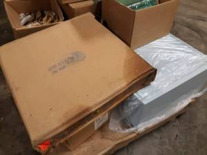 Pallet Lot of Electronics, Speakers - Electrical Enclosure and More