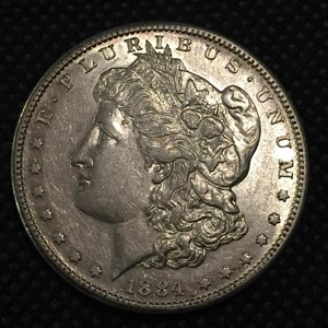 1884 S Morgan Dollar