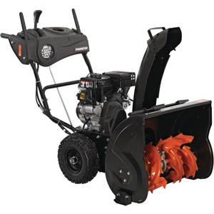 Power Care 24 in. Two-Stage Gas Snow Blower with Electric Start and Headlight in good working conditions