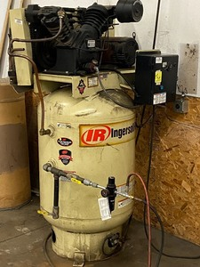Ingersoll-Rand 120-Gallon Air Compressor