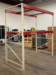 Industrial Stand-Alone Pallet Rack