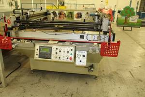 The A.W.T. World Trade Group Daytona-56 Flat Bed Screen Printing Machine