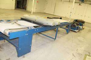 M&R Print Printing Press 38in. Vitran UV Screen Printing Conveyor Dryer with Dayton Blower 2C820 Polyphase Motor