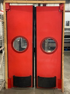 "Set Of ""Chase"" Restaurant Doors"