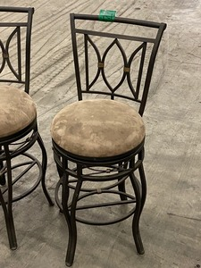 Lot Of (3) Matching Bar Stools