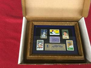 USPS Commemorates Professional Baseball The Great American Pastime Professional Baseball Stamp Pin Collector Edition