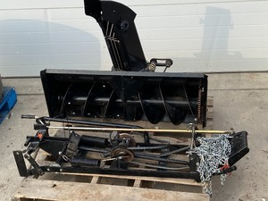 RAD Snowblower Set For A Snapper Lawn Tractor