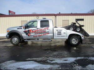 2011 Ford F350 with Miller Autoloader Wrecker Bed