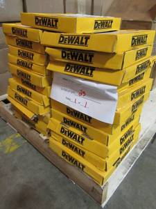 BRAND NEW FROM MANUFACTURER, 115 UNITS (Packs of 3 Blades) FOR RESALE! DEWALT Construction 3-Pack 7-1/4-in 18-Tooth Continuous Carbide Circular Saw Blade DW3592B3L - That's 345 Quality Blades!