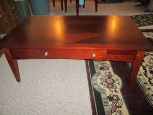 "Coffee Table (28 X 48"" Top) With Dr..."