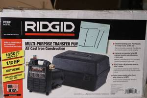 Ridgid 1/2 HP Portable Utility Pump