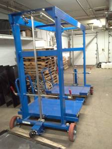 Topper Industrial Model 12012-35105 Mother Daughter Cart