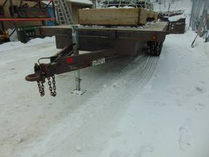 "1993 7'-10"" x 16' Sands Dual Axle Trailer"
