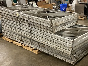 Bulk Lot Of Pallet Rack Uprights