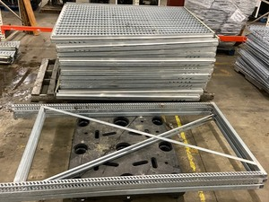 Lot Of Commercial Beer-Cooler Gravity Racking