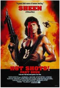 "Original Authentic ""Hot Shots Part Deux"" 27"" x 40"" Movie Poster $72 retail"