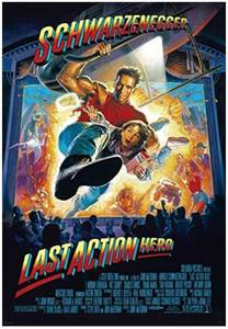 "Original Authentic ""Last Action Hero"" Movie Poster 27"" x 40""  $62 Retail"
