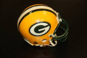 1995 Riddell Authentic Mini Helmet Green Bay Packers