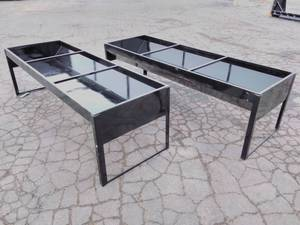 Pair of Large Livestock Trough/Raised Flower Beds