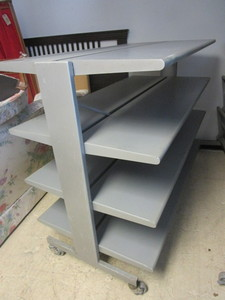 COMMERCIAL ROLLING SHELF UNIT