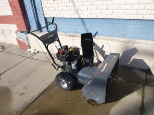 Murray Performance Snowblower