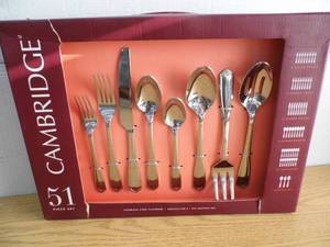 Cambridge 51 Piece Flatware