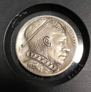'HOBO' NICKEL depression era coin