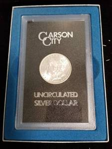 1883-CC CARSON CITY MORGAN SILVER DOLLAR GSA HOARD