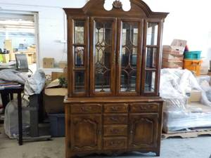 "Hutch, 2 piece double light 54"" wid..."