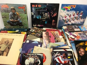 LARGE Lot of Vinyl Records, LP's and 45's, Includes ALL items Pictured