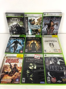 XBOX 360 Games, Lot of 9 Games