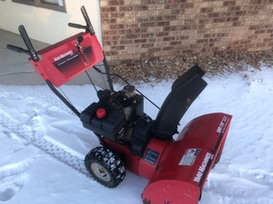 "Yard Machines 8HP/24"" Snowblower, Self Propel, Electric Start, See Attached Video"