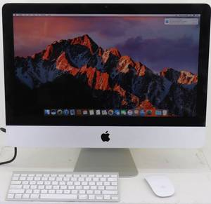 "Apple iMac 21.5"" All-in-One w/ Wireless Keyboard/Mouse"