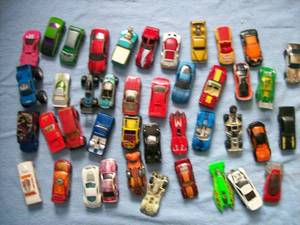 Qty of 40 Hot Wheels cars. Used condition. As shown.