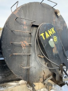 6000-Gallon Storage Tank With Agitator