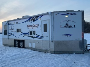 "2018 Ice Castle ""Grand-Castle Toy-Hauler"" -- Used Only 2-Times Camping -- Never Been On The Ice!"
