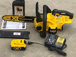 DeWalt XR Brushless 20Volt Chainsaw