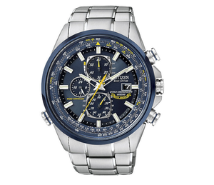 Brand New Citizen Men's Eco-Drive Blue Angels World Chronograph A-T Watch
