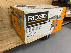 Ridgid Model: R4512 13 Amp 10 in. Professional Cast Iron Table Saw