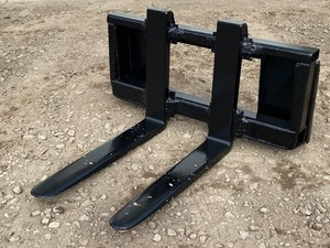 Heavy Duty Skid-Loader Rock Forks
