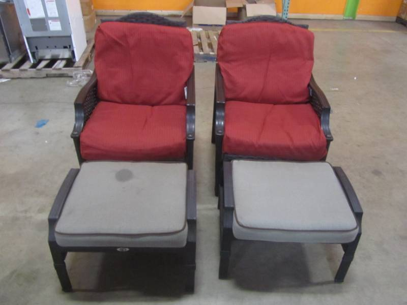 Martha Stewart Living Palamos Patio Chairs With Replacement Cushions Foot Rests Mn Home Outlet Burnsville 129 Removal By Appointment Only Friday And Saturday Online Payment Option Encouraged K Bid